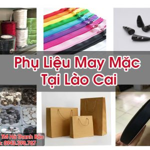 Phụ Liệu May Mặc Tại Lào Cai